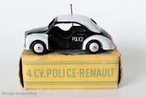 Renault 4 CV Police - CIJ ref. 3/49 - portes échancrées