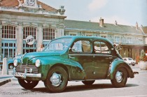 Renault 4 CV - photo d'époque