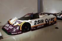 Musée des 24 Heures - Jaguar XJR-9LM vainqueur en 1988 (sans moteur)