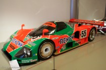Musée des 24 Heures - Mazda 787B vainqueur en 1991 (sans moteur)