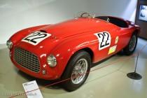 Musée des 24 Heures - Ferrari 166 MM vainqueur en 1949