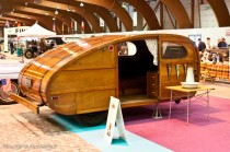 Rétro Passion Rennes - Caravane bois