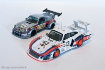 Porsche 911 carrera turbo et 935 Moby Dick - AMR - 4 ans d'évolution