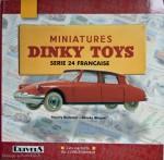 """Livre """"Miniatures Dinky Toys Série 24 française"""" de Redempt et Wagner - La référence de la série 24"""