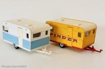 Dinky Toys ref. 564 - Caravane Caravelair Armagnac 420 et Pinder