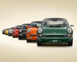 Porsche 911 - Sept générations - Photo Porsche.com