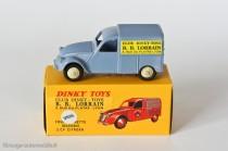 Citroën 2 CV fourgonnette BB Lorrain - Dinky Toys réf. 25 D - ici copie Editions Atlas