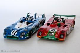 Matra Simca MS 670B, vainqueur 24 Heures du Mans 1973 - IXO Models & Ferrari 312PB seconde - Redline