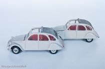 Citroën 2 CV 1966 - Dinky Toys réf. 500 espagnole et française