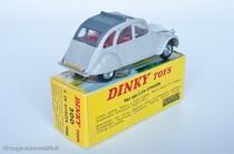 Citroën 2 CV 1966 - Dinky Toys réf. 500 espagnole - variante n°2