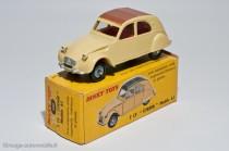 Citroën 2 CV AZAM 1961 - Dinky Toys réf. 558