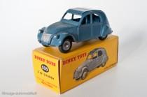 Citroën 2 CV 1950 - Dinky Toys réf. 535 - variante n°5