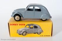 Citroën 2 CV 1950 - Dinky Toys réf. 24 T - variante n°4