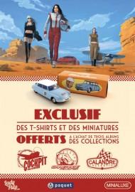 Affiche promotionnelle Editions Paquet - Minialuxe