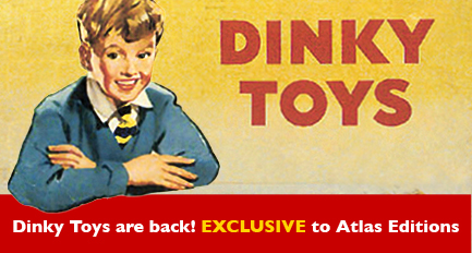 Nouvelle Collection Dinky Toys Anglais Aux Editions Atlas