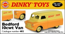 Dinky Atlas anglais - Bedford 10cwt - photo Ed. Atlas