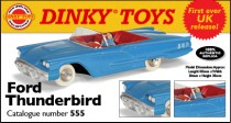 Dinky Atlas anglais - Ford Thunderbird - photo Ed. Atlas