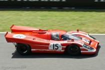 Porsche 917 K -configuration vainqueur 24 Heures du Mans 1970 - Le Mans Classic 2012