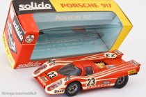 Porsche 917 K - vainqueur 24 Heures du Mans 1970 - Solido réf. 186 au 1/43ème