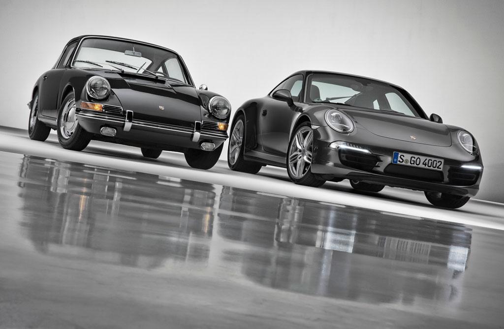 Porsche 911, 50 ans de passion.