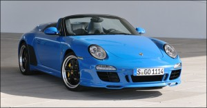 Porsche 911 type 997 speedster