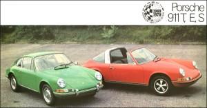 Porsche 911 et Targa