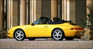 Porsche 911 type 993 cabriolet