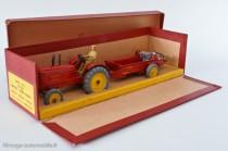 Dinky Toys 27AC - Massey Harris tracteur et épandeur d'engrais