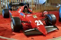 Manoir de l'automobile de Lohéac - Ferrari 126 C3 - 1983