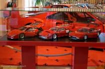 Manoir de l'automobile de Lohéac - maquettes Ferrari