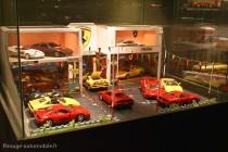 Manoir de l'automobile de Lohéac - diorama Ferrari