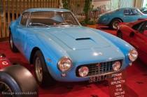Manoir de l'automobile de Lohéac - Ferrari 250 SWB Berlinette chassis court