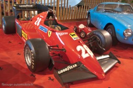 Manoir de l'automobile de Lohéac - Salle des Ferrari - Ferrari 126 C3 - 1983 & Ferrari 250 GT