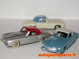 Dinky Toys 24H - Mercedes 190 SL prototypes donc codes 1 (crédit Auto Jaune)