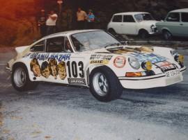 """Porsche 911 Carrera RSR 2,8l """"Le Grand Bazar""""- Tour Auto 1973 - Photo Club RS de France"""
