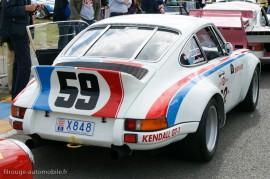 Porsche 911 Carrera RSR - Configuration vainqueur Daytona 1973 (Le Mans Classic 2012)