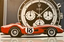 Montres et automobiles : les belles mécaniques