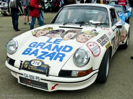 "Porsche 911 Carrera RSR 2,8l ""Le Grand Bazar""- Tour Auto 2013 Optic 2000"