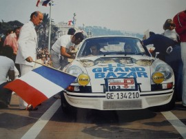 "Porsche 911 Carrera RSR 2,8l ""Le Grand Bazar""- Tour Auto 1973 - Photo Club RS de France"
