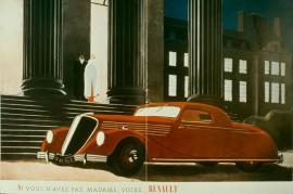 Renault Viva Grand Sport - Affiche années 30