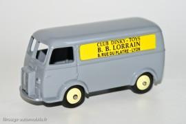 Editions Atlas Dinky Toys 25 B - Peugeot D3A  B.B Lorrain 75ème anniversaire