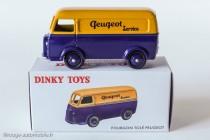 """Editions Atlas Dinky Toys 25 B - Peugeot D3A """"Peugeot"""" - Série limitée hors commerce"""