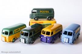 Série Peugeot D3A dinky Toys et Atlas Dinky