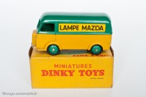 """Dinky Toys 25 B - Peugeot D3A """"Lampe Mazda"""""""