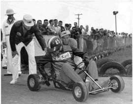 Premières courses de Go Kart