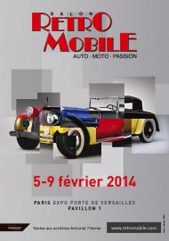 Rétromobile : Affiche 2014