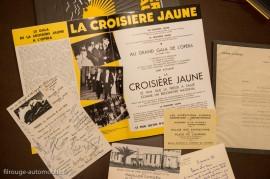 La croisière jaune - fac-similé de documents - Ariane Audouin-Dubreuil - Glénat