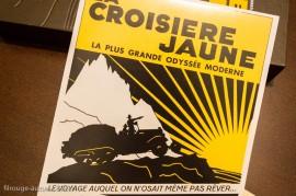 La croisière jaune - fac-similé d'affiche - Ariane Audouin-Dubreuil - Glénat
