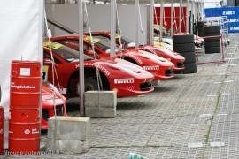 Ferrari Challenge - Les stands