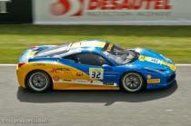 Ferrari 458 Challenge de Sergey Choukanov - 1er Le Mans 2013 - Vainqueur Trofeo Pirelli 2013